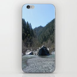 Gorgeous day in the mountains... iPhone Skin