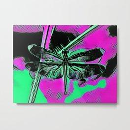 Mayfly Metal Print
