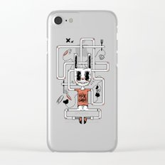I'm hungry! Clear iPhone Case