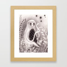 Starbelly and Ada Framed Art Print