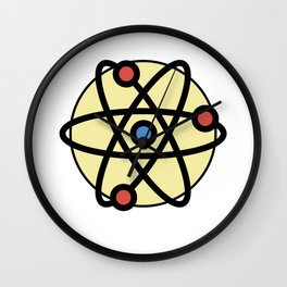Atoms Very Cute Gift Idea Wall Clock