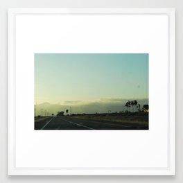 Open Road 14/15 Framed Art Print