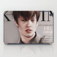 snk iPad Cases featuring SnK Magazine: Eren by putemphasis
