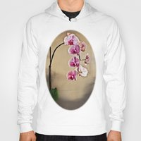 orchid Hoodies featuring Orchid by Misspeden