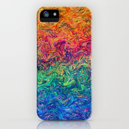 Fluid Colors G249 iPhone Case