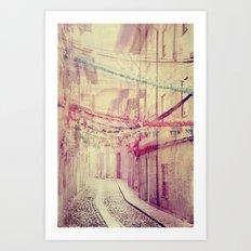street party Art Print
