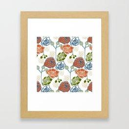 Gardenia Light Framed Art Print