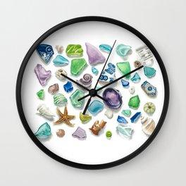 Pirates Treasure Wall Clock