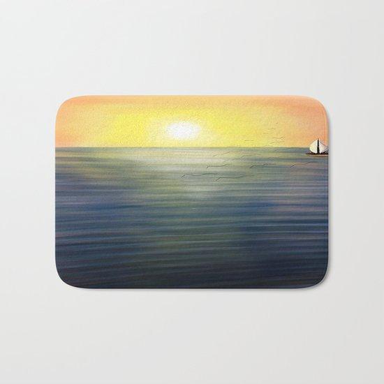 Sea Sun Bath Mat