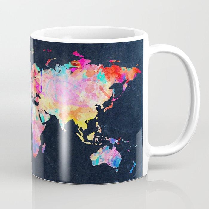 World Map Coffee Mug By Bekimart Society6