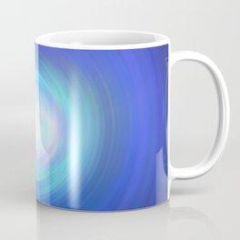 Deep Blue Swirl Coffee Mug