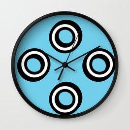 Round Circles Wall Clock
