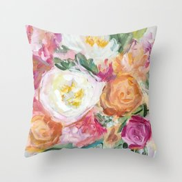 Say Things Throw Pillow
