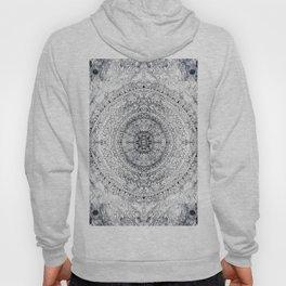 Black&white Mandala - & Grey Blue Hoody