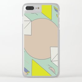 Pattern_1 Clear iPhone Case