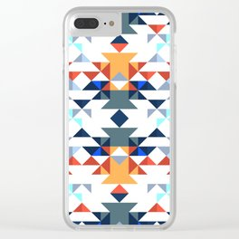 Aztec 5 Clear iPhone Case