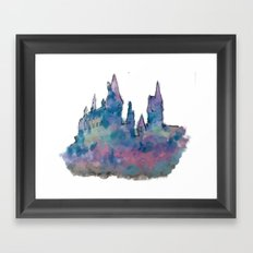 Hogwarts Framed Art Print