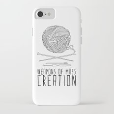 Weapons Of Mass Creation - Knitting iPhone 7 Slim Case