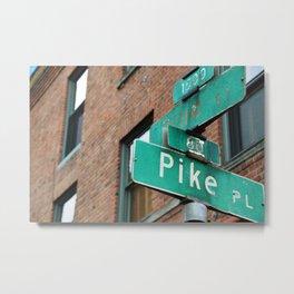 a certain corner Metal Print