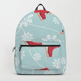 Winter Ice Skating Backpack