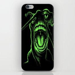 Alien Scream iPhone Skin