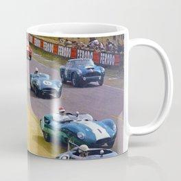 24 Heures du Mans 1960 Poster Coffee Mug