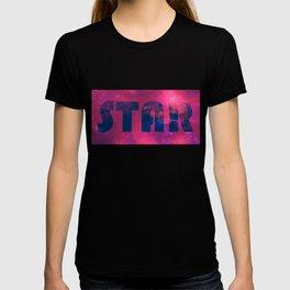 Star - purple universe T-shirt