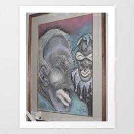 Dave the Jester Art Print