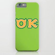 Monster University Fraternity : Oozma Kappa iPhone 6s Slim Case