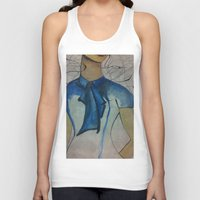 vogue Tank Tops featuring Vogue by Taylor Starnes