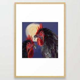 Morning Duet Framed Art Print