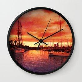 Spanish Marina II Wall Clock