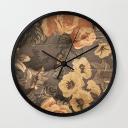 Lie Down Wall Clock