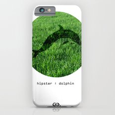Hipster Dolphin. iPhone 6s Slim Case