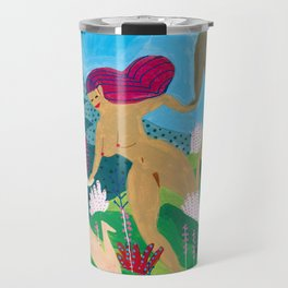 three graces Travel Mug