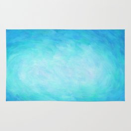Blue Healing Waters Rug