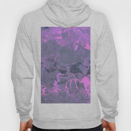 Grey and Pink Marble Hoody