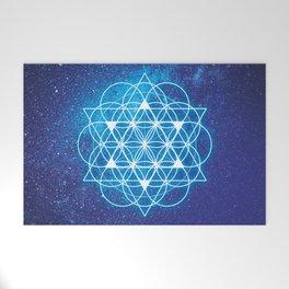 Sacred Geometry Welcome Mat