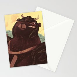 Ye Olde Smokey Stationery Cards