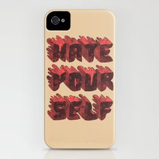 Hate Yourself iPhone (4, 4s) Slim Case