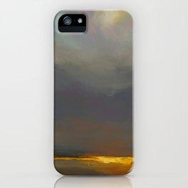 Golden Lining. iPhone Case