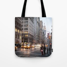 Midtown Manhattan in the Evening Tote Bag