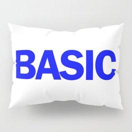 BASIC in Blue Pillow Sham