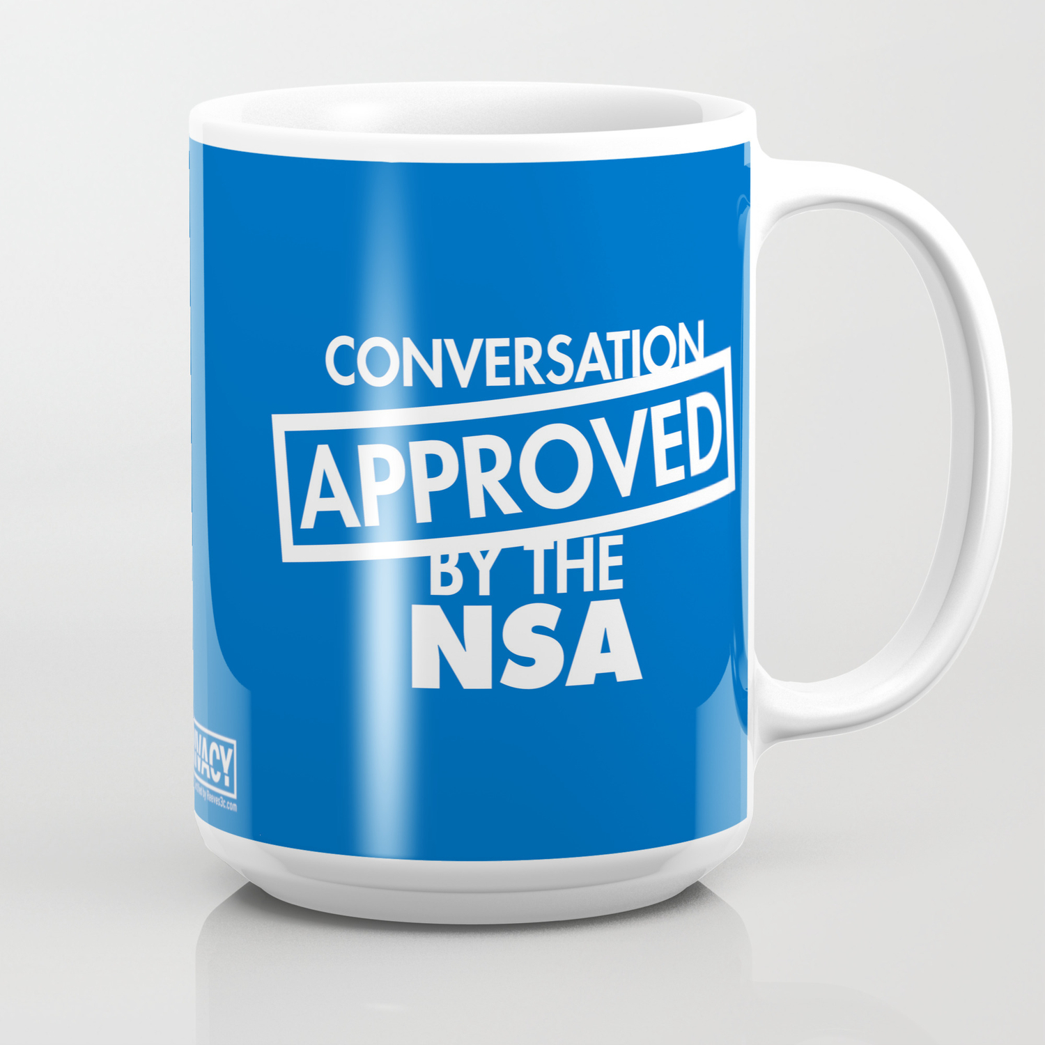 By Mug Reeves3cSociety6 The Nsa Coffee Conversation Approved m8NPwvn0yO