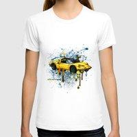 ferrari T-shirts featuring Ferrari by Svetlana Sewell