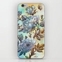 The Vintage Rose iPhone Skin