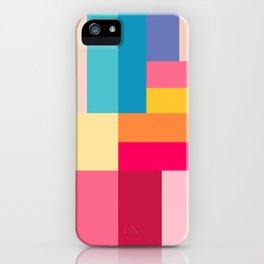 Color Stripes: Bubblegum Pink iPhone Case