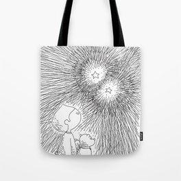 sous les étoiles Tote Bag