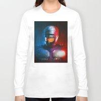 cyclops Long Sleeve T-shirts featuring CYCLOPS by John Aslarona