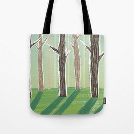 Forrest Shadows Tote Bag